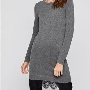 NWT bcbgeneration Lace-Trimmed Sweater Dress